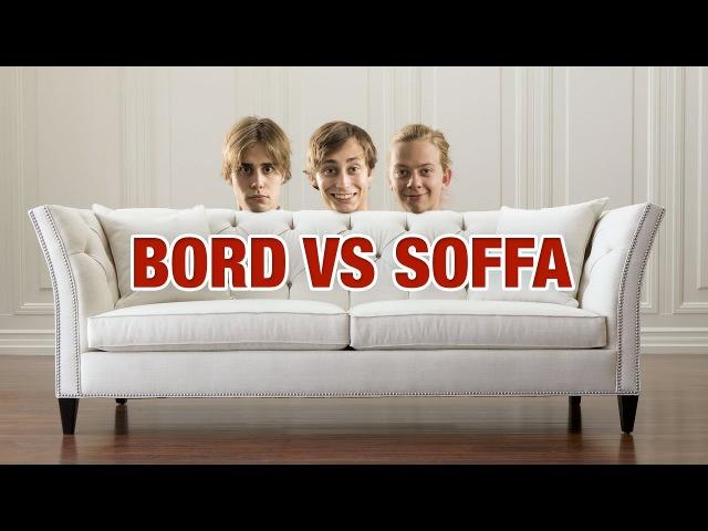 Bord vs Soffa (Vart ska man äta)