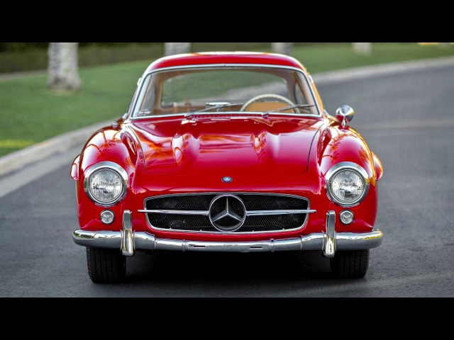 Mercedes Benz 300 SL W198 01 12 1955