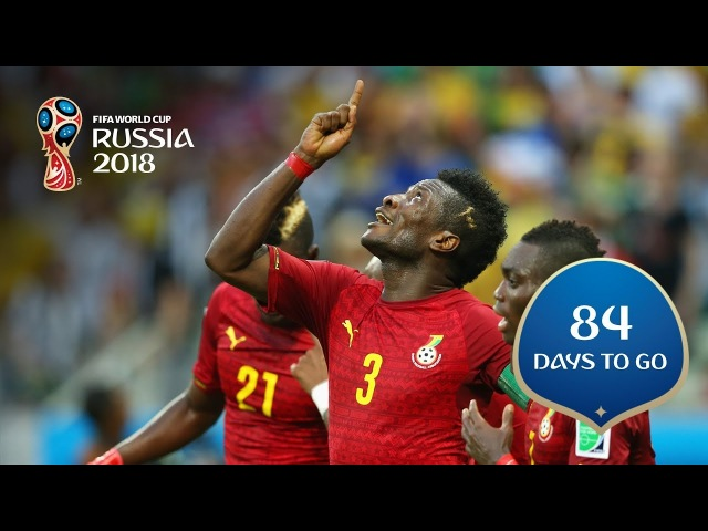 84 DAYS TO GO! African stars make their mark