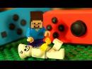 ЛЕГО НУБик и Борька Майнкрафт Смешные Мультики для Детей LEGO Minecraft Мультфильмы