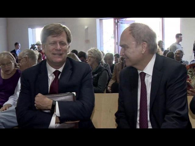 Вести.Ru: Макфол заявил, что любит Россию и скучает