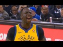 Draymond Green TAUNTS THUNDER PLAYER JERAMI GRANT GETS TECHINAL FOUL! Thunder vs Warriors