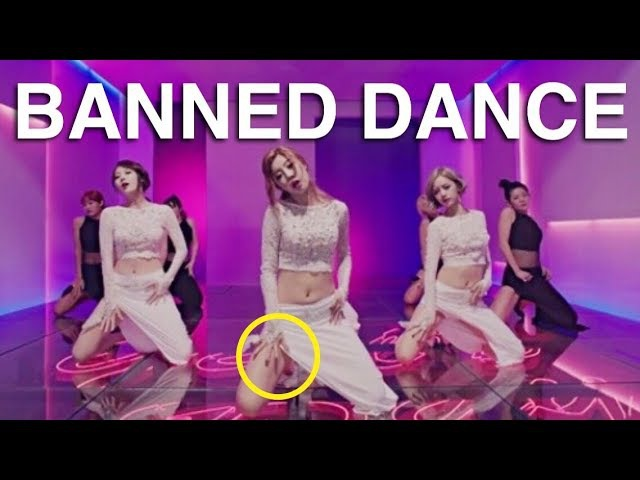 Kpop Banned Dance MV vs LIVE
