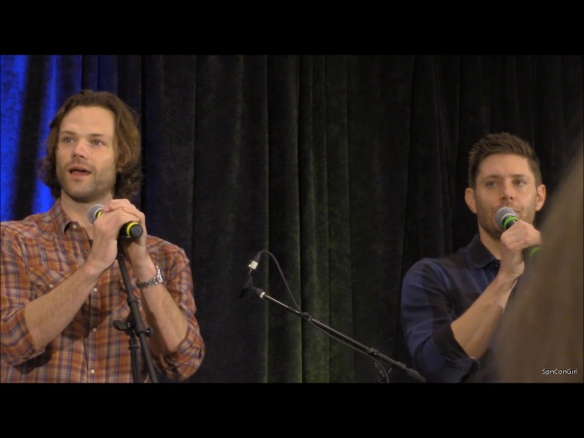 OrlCon Jared Padalecki and Jensen Ackles GOLD FULL 2018 Supernatural