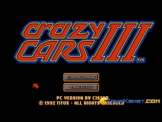 Crazy Cars 3 gameplay (PC Game, 1992)