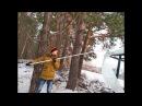 Уборка снега с крыш Скребок для снега телескопический для крыши