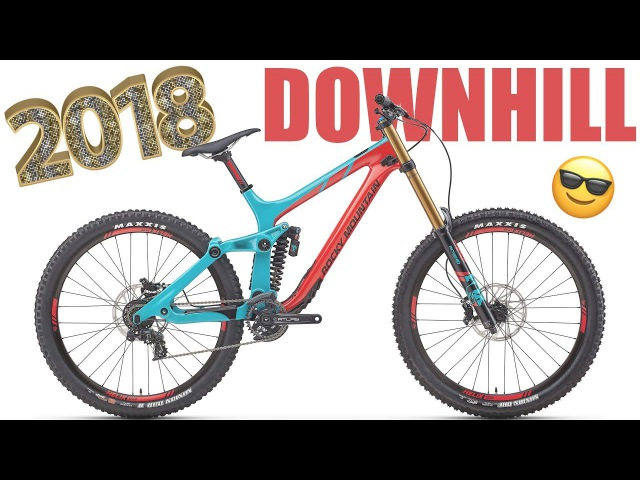 The best DOWNHILL BIKES for 2018 in DETAIL [4K]