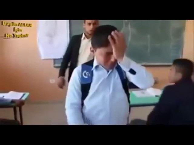 Dünyayi ağlatan klip ,çocuğun derse geç kalması