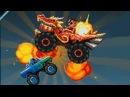 DRIVE AHEAD - БОСС МАШИНА ДРАКОН Большой Джип веселый детский мультик про машинки Cool games