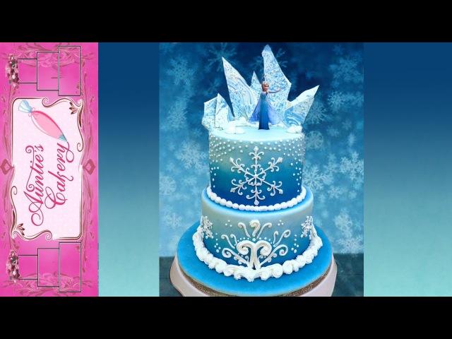 Disney's Frozen Cake Auntie's Style