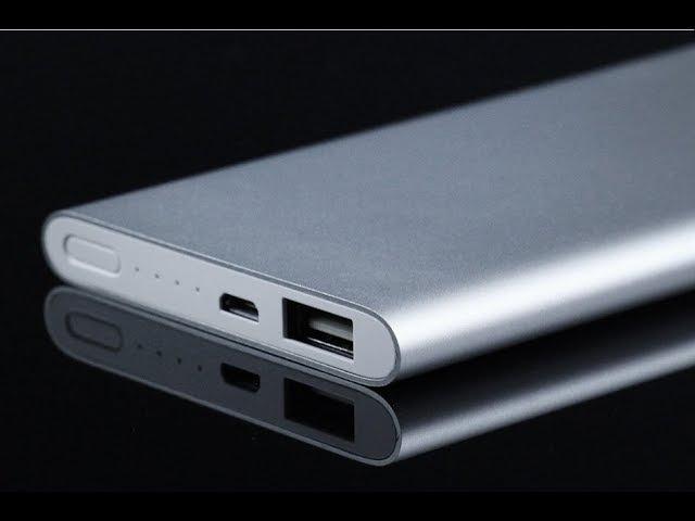 Xiaomi Mi Power Bank 5000 mAh Silver (РАСПАКОВКА И ТЕСТИРОВАНИЕ)