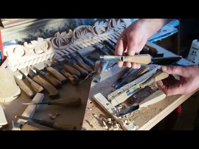 Подготовка инструмента к резьбе. Часть 1. Делаем ручку для стамески.