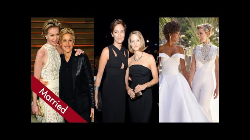 Top 10 Lesbian Couples in Hollywood Who Got Married
