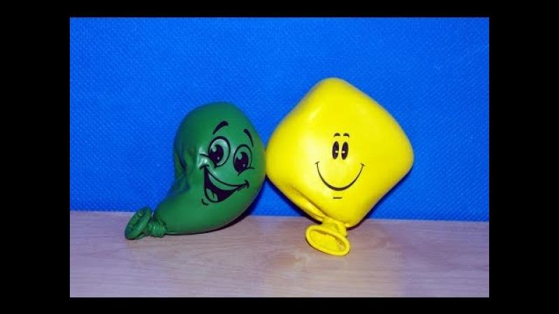 Мялка-антистресс из воздушного шарика. Поделки для детей своими руками. Игры без игрушек.