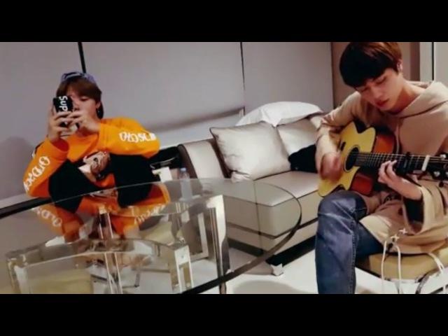 BTS [ENG SUB] - Jongkook Jin Jim Butterfly