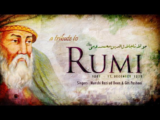 Artful Idol | Best of Molana Rumi Poems | Farsi Qawwali Sufi Song | English, Urdu Translation
