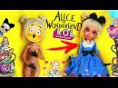 ООАК ЛОЛ Алиса в стране чудес ОДЕЖДА / Как сделать ООАК LOL на кукле Эвер Афтер Хай