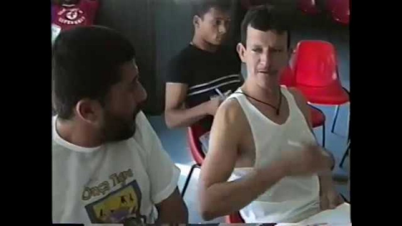 Capoeira: II Convenção de Árbitros. Diadema, São Paulo - SP, Brasil. 332 MB. 28abr a 01mai01, 4C