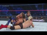 James Ellsworth vs AJ Styles w Dean Ambrose as Referee - Full Match