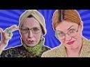 ТРУМ ТРУМ - 15 пранков и лайфхаков для школы (Реакция Мадам Ирмы)