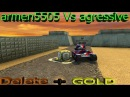 TANKI ONLINE: armen5505 VS agressive / DELETE GOLD   ՀԱՅԵՐԵՆ