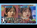 Idol Star Athletics Championship 아이돌스타 선수권대회 2부 - TWICE TZUYU -RedVelvet Irene 20180215