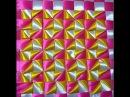 Ribbon Cushion Cover Embroidery COJINES EN CINTAS Tutorial 1
