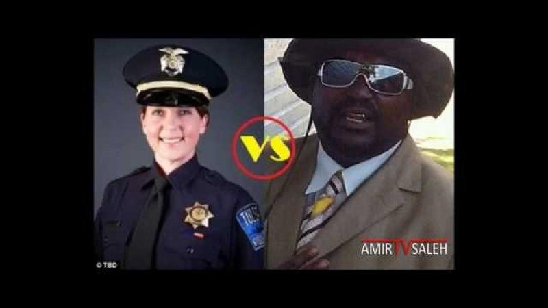 The white policewoman and the black citizen [Read video description]
