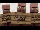 Новости Жителей Minecraft Анимация, На Русском майнкрафт анимация, майнкрафт мульт
