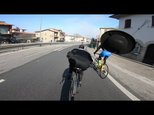 ABSURD Priest on Graziella vs cycling -WATCH UNTIL THE END