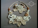 Осенняя мелодия - цветы и украшения ирландского кружева/flowers and crocheted jewelry of Irish lace