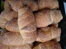 Рогалики с яблочным повидлом / Bagels with apple jam