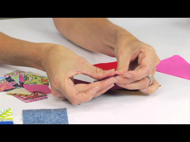 From the Sizzix Quilting Workshop: Learn to Square Dance Block with Victoria Findlay Wolfe