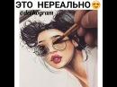 """Видосики для девушек🙋 on Instagram: """"Как он это делает😲 Вот это талант!🤗 Хотели бы себе такую красоту?😳 1. Да😍 2. Нет🙈 Отметь того, кому подарил(а)..."""