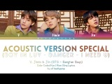 BTS (V, Jimin, Jin) - Special Acoustic Medley (Color Coded LyricsEngRomKan)