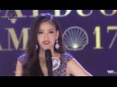 Phần thi ứng xử gây cười của Top 5 Hoa hậu Đại dương 2017