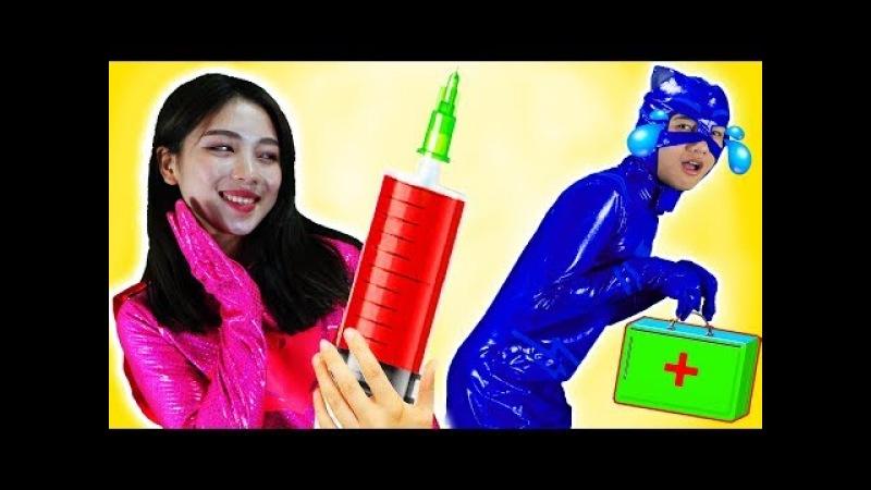 PJ Masks Full Episodes Superheroes Cartoon Disney Junior Learn Color Nursery Rhyme for Kids