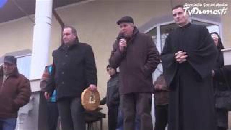 Urătură tradițională de la Dumești - 31.12.2017 - Primăria comunei Dumești