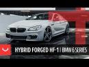 Vossen Hybrid Forged HF-1 Wheel | BMW 6 Series | Tinted Matte Gunmetal