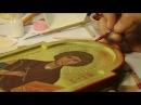 Пишем иконы темперой Икона Пантелеймона целителя