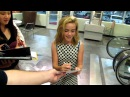 Kiernan Shipka of Mad Men signs autographs at World Premiere of The Odd Life of Timothy Green