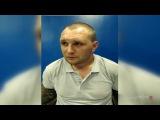 Появилось первое видео допроса задержанного Александра Масленникова
