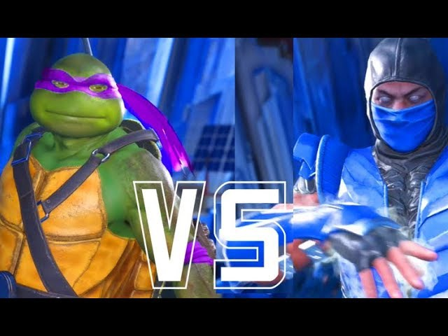 INJUSTICE 2 - ALL INTROS DIALOGUES TMNT Teenage Mutant Ninja Turtles Vs SUB-ZERO