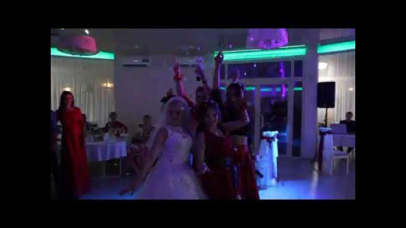 Танец невесты и подружек. Крутой сюрприз для жениха. Юрий и Оксана Ижевск 2017