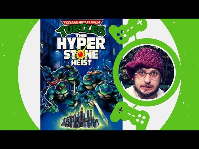 Teenage Mutant Ninja Turtles: The Hyperstone Heist / Sega Genesis / 1