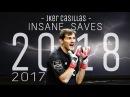 Iker Casillas || INSANE Saves 2017/18 || Ready For O Clàsico - HD 1080p