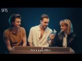 [RUS SUB] Stranger Things Cast Reviews 80s Fads ¦ Teen Vogue