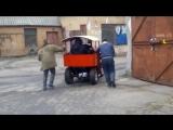 Тормозные испытания паровоза.