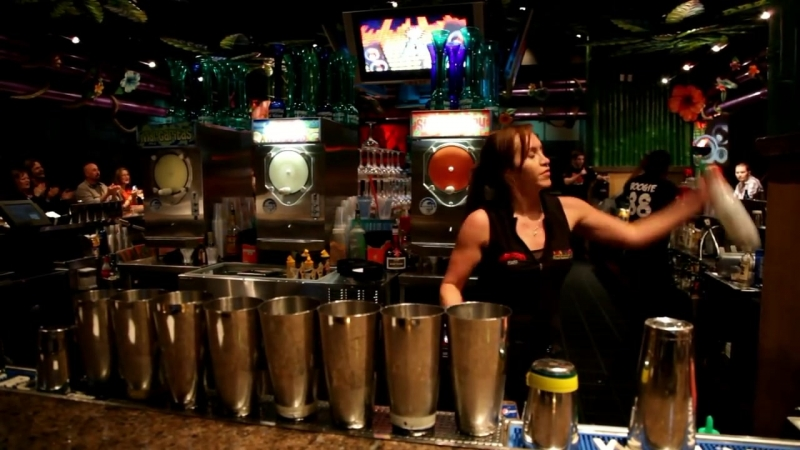 Kahunaville Bar Las Vegas - Bartender Essie Numminen