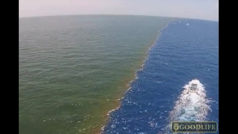 Исследуя водные просторы в Гибралтарском проливе, ученые обнаружили удивительный, не объясняемый наукой факт: существование двух